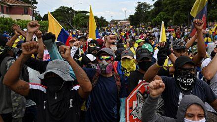 Colombia. El paro nacional cumple un mes
