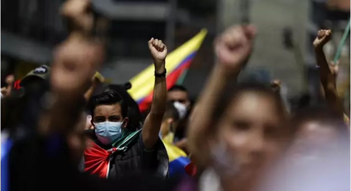 "Colombia: Continúa la rebelión popular. No al ""dialogo"" tramposo"