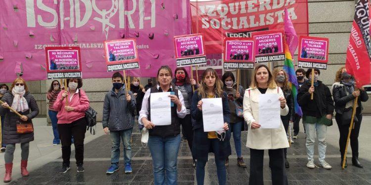 Diputada Mónica Schlotthauer de Izquierda Socialista se solidarizó con mujeres afganas y pide que el gobierno talibán no sea reconocido por Argentina